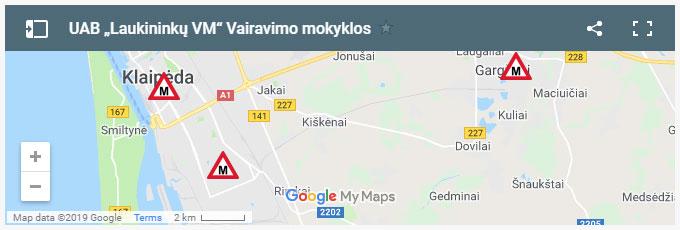 """UAB """"Laukininkų VM"""" Vairavimo mokyklos"""